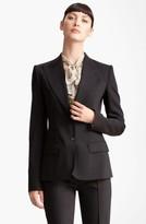 Dolce & Gabbana Women's Two Button Stretch Wool Jacket
