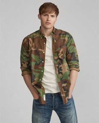 Ralph Lauren Classic Fit Camo Oxford Shirt
