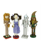 Asstd National Brand Wizard of Oz Wooden Nutcrackers- Set of 4