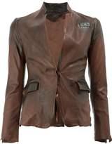 Numero 10 leather blazer
