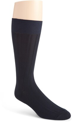 Nordstrom Ultrasoft Textured Dress Socks