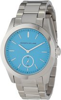 Kenneth Jay Lane Women's KJLANE-2301B Blue Textured Dial Stainless Steel Watch