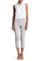 Insight Solid Techno Pull On Cropped Pant