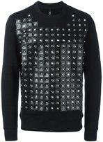 Versus perforated sweatshirt
