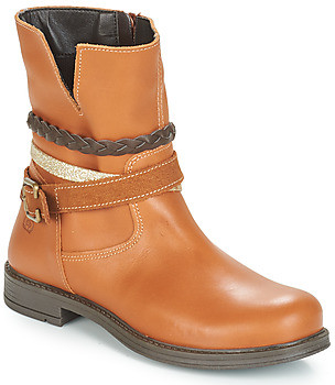 Citrouille et Compagnie FURAMO girls's Mid Boots in Brown