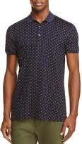 Scotch & Soda Dot Print Slim Fit Polo Shirt