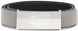 Maison Margiela Logo Leather Belt