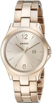DKNY Women's NY2368 PARSONS Gold Watch