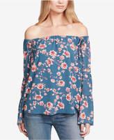 Jessica Simpson Trendy Plus Size Off-The-Shoulder Top