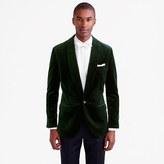 J.Crew Ludlow shawl-collar blazer in velvet