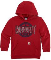 Carhartt Chili Pepper 'Carhartt' Fleece Pullover Hoodie - Boys