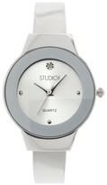 Studio Time Women's Studio Time® Bangle Watch - Light Silver