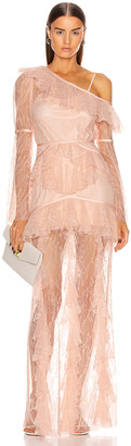 Alice McCall Shadow Love Gown in Tea Rose | FWRD