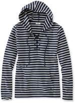 L.L. Bean L.L.Bean Nautical Stripe Top, Pullover Hoodie