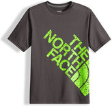 The North Face Reaxion Amp Logo Jersey Tee, Gray, Size XXS-L