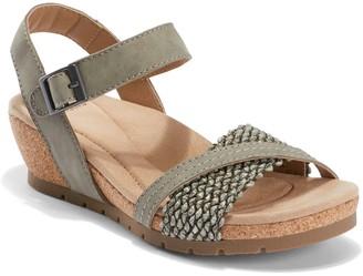Earth Origins Adjustable Wedge Sandals - KendraKennedy