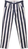 Il Gufo Denim pants - Item 42547329