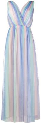 Olivia Rubin Ombre Stripe Maxi Dress