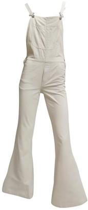 Non Signã© / Unsigned Beige Denim - Jeans Jumpsuits
