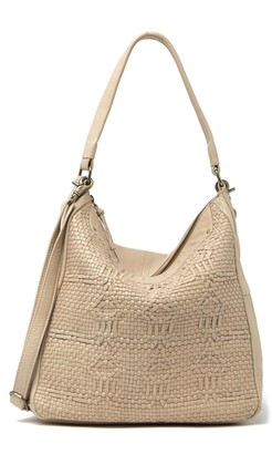 Day & Mood Smilla Woven Leather Hobo Bag