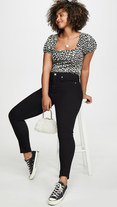 Good American Good Legs Cropped Jeans