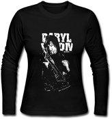 Nevada211. USM-Women's The Walking Dead Daryl Dixon Norman Reedus Long Sleeve T-Shirt Shirt.