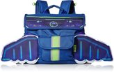 Bixbee Boy's Space Racer Kids Backpack with Light up Led Wings