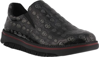 Spring Step Professional Men's Leather Clogs -Power-Skull