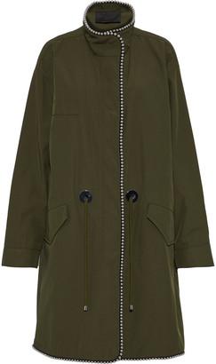 Alexander Wang Bead-embellished Twill Jacket
