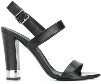 Giuseppe Zanotti Buckled Chunky-Heel Sandals