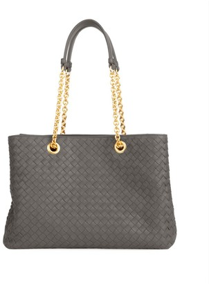 Bottega Veneta Chain Leather Tote