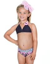 Hula Star Black & Pink Rosie Day Bikini - Toddler