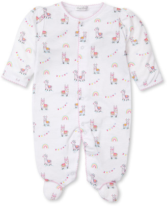 Kissy Kissy Fun-Loving Llamas Footie Playsuit, Size Newborn-9 Months