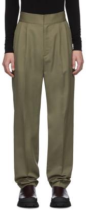 Ambush Taupe Logo Elastic Trousers