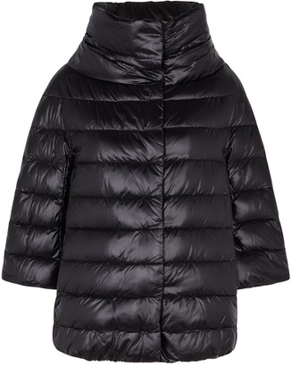 Herno Icon Black Quilted Shell Jacket