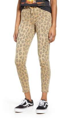 Blank NYC Leopard Skinny Jeans