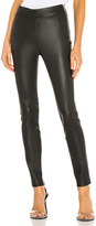 Helmut Lang Zip Leather Legging
