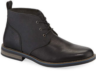 Robert Wayne Minos 2 Leather Lace-Up Chukka Boots