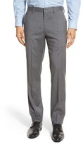 Bonobos Men's 'Jetsetter' Flat Front Solid Stretch Wool Trousers