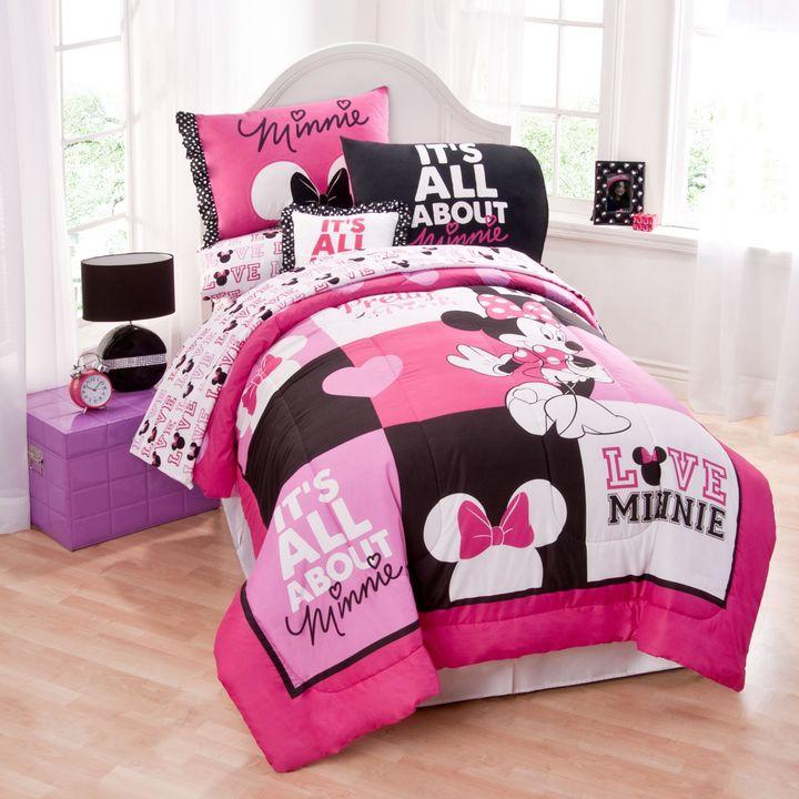 Disney Minnie Mouse Twin Comforter Set