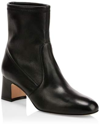 Stuart Weitzman Nikita Leather Ankle Boots