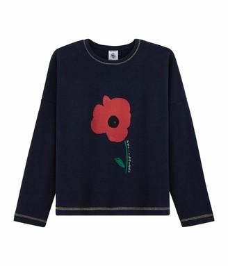 Petit Bateau Girl's Tee Shirt Ml_5225001 Long Sleeve Top