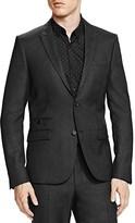 The Kooples Piqué Shiny Slim Fit Sport Coat