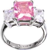 Body Candy Pink Triple Square Cocktail Ring Size 8