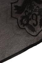 Erdem Aysha embroidered silk-gazar pencil skirt