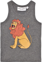 Mini Rodini Grey Lion Tank