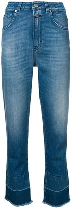 Closed Cropped Slim Jeans