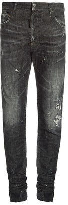DSQUARED2 Cool Guy Paint Faded Straight Jeans