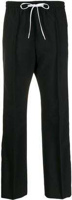 Miu Miu Logo Tape Track Pants