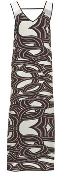 Sisley SIXIOL women's Long Dress in Multicolour